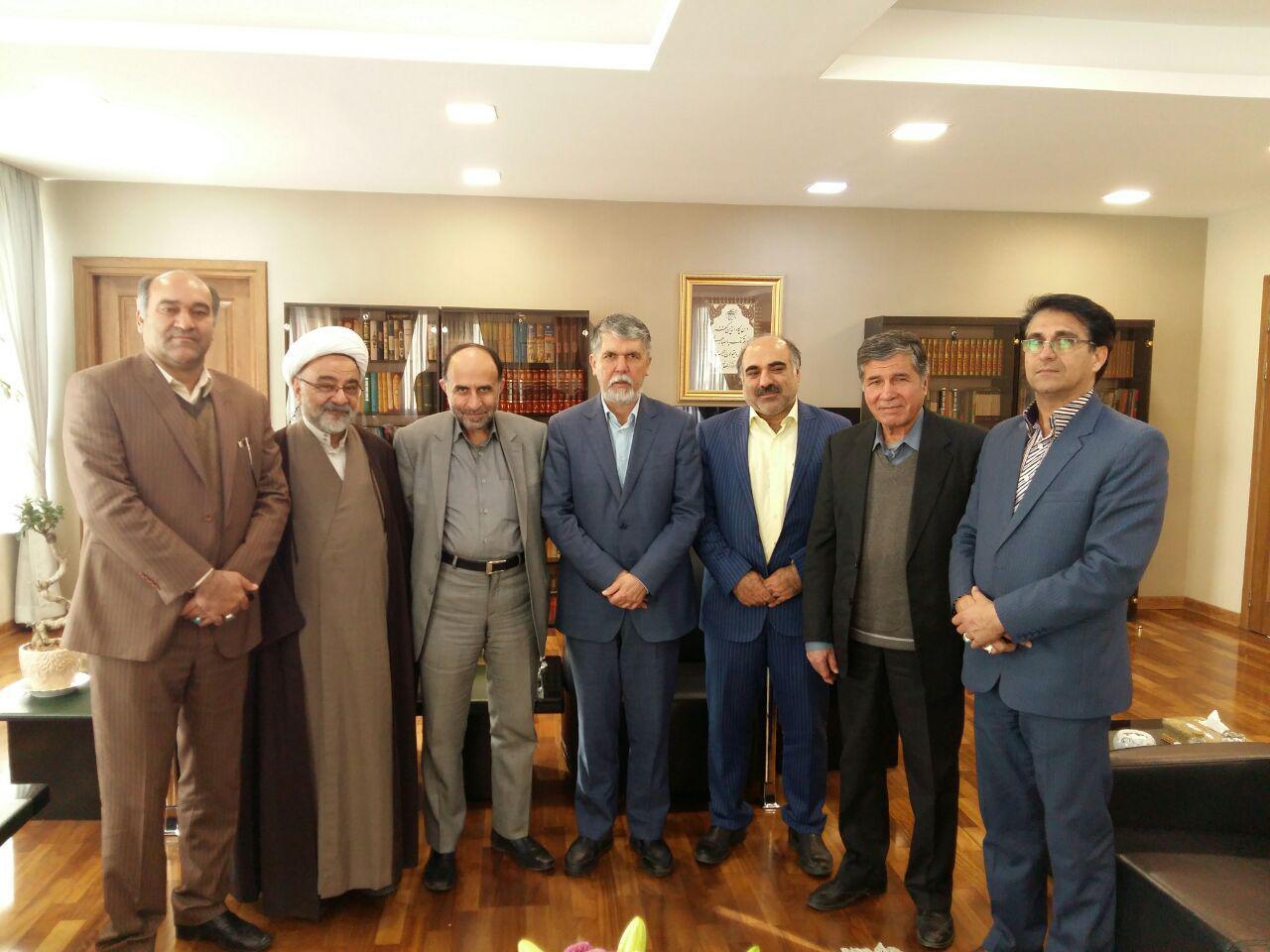 ديدار با دكتر صالحي وزير محترم فرهنگ و ارشاد اسلامي