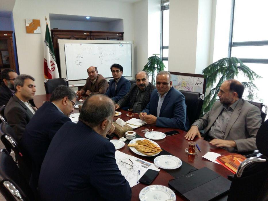 ديدار با معاونت وزير راه و شهرسازي در تهران